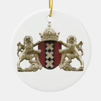 Amsterdam City XXX Dutch Lions Ornament