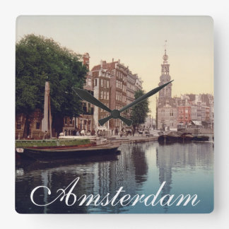 Amsterdam Clock