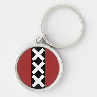 Amsterdam Coat of Arms. Key Ring