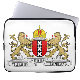 Amsterdam Coat of Arms Laptop Sleeve