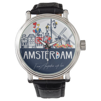 Amsterdam cool design watch