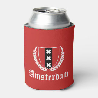 Amsterdam Crest Can Cooler
