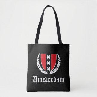 Amsterdam Crest Tote Bag