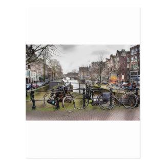 Amsterdam Fine Art Postcard