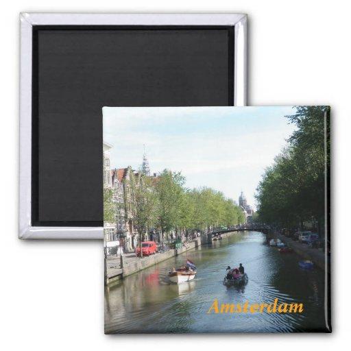 Amsterdam fridge magnet