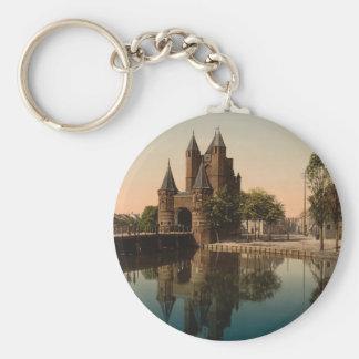 Amsterdam Gate, Haarlem, Netherlands Key Ring
