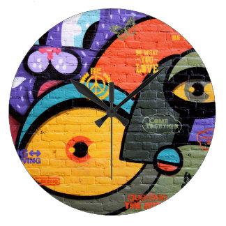 Amsterdam Graffiti Clock