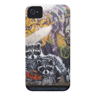Amsterdam Graffiti Street Art Nr. 1 - Raccoon iPhone 4 Case-Mate Cases
