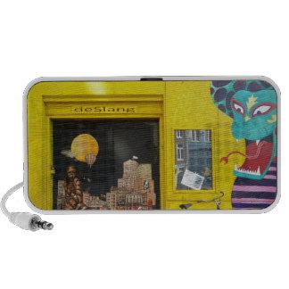 Amsterdam Graffiti Street Art Nr. 4 - Snake iPod Speaker