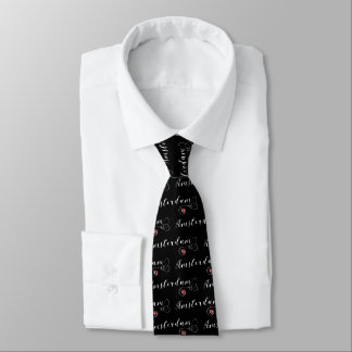 Amsterdam Heart Tie, Dutch Holland Tie