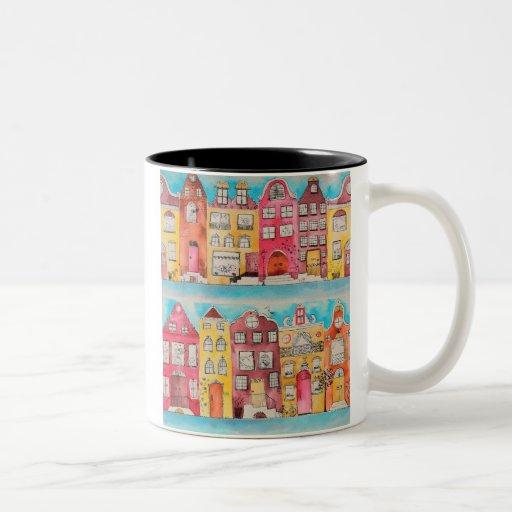 Amsterdam in love mosquito mug