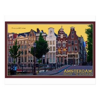 Amsterdam-Keizersgracht Centrum Postcard