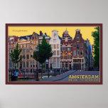 Amsterdam-Keizersgracht Centrum Poster