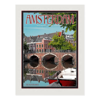 Amsterdam - Keizersgracht-RGrachtCentrum Postcard