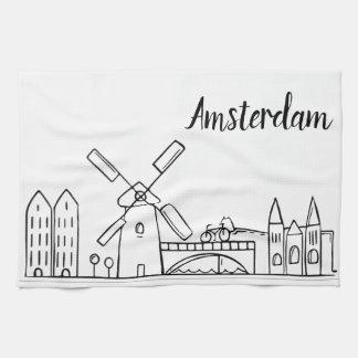 Amsterdam Kitchen Dish Towel