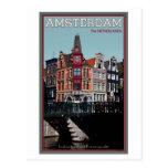 Amsterdam - Leidsestraat - Keizersgracht Postcard
