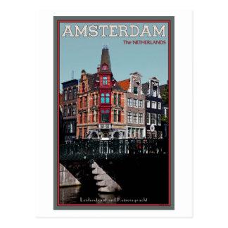 Amsterdam - Leidsestraat - Keizersgracht Post Card