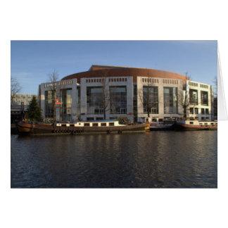 Amsterdam Music Hall Greeting Card