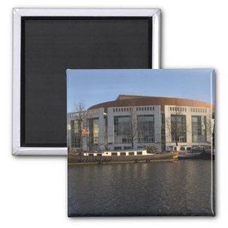 Amsterdam Music Hall Square Magnet