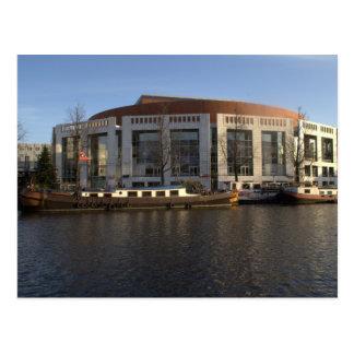 Amsterdam Music Hall Postcard