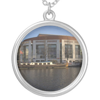 Amsterdam Music Hall Round Pendant Necklace
