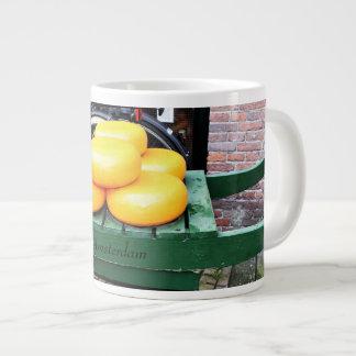 Amsterdam, Netherlands, Cheese, Shop, Large Coffee Mug