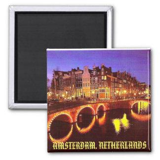 AMSTERDAM NETHERLANDS REFRIGERATOR MAGNETS