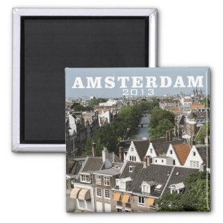 Amsterdam Netherlands Travel Fridge Magnet