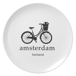 Amsterdam Party Plate