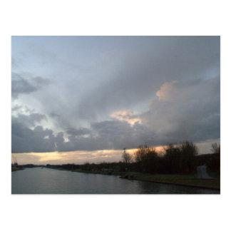 Amsterdam-Rhine Canal Post Card