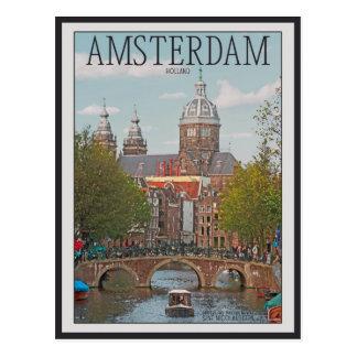 Amsterdam - Sint Nicolaaskerk Postcard