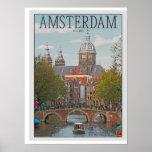 Amsterdam - Sint Nicolaaskerk Posters