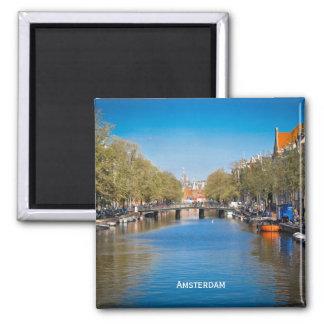 Amsterdam Square Magnet