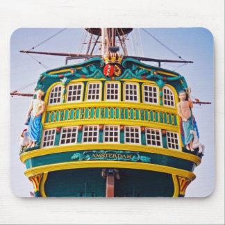 Amsterdam Tall Ship Mousepad
