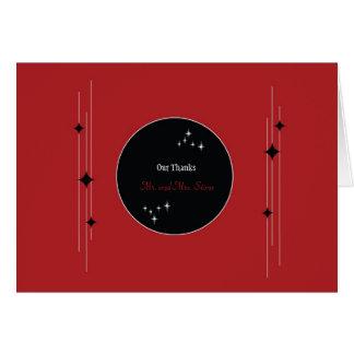 Amsterdam Thank You: Crimson Card