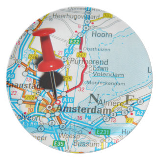 Amsterdam, The Nederlands Party Plates