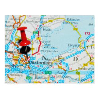 Amsterdam, The Nederlands Postcard
