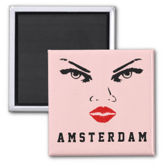 Amsterdam, The Netherlands Woman Magnet
