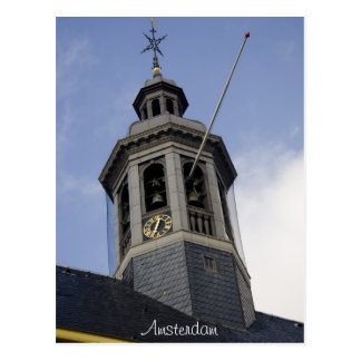 Amsterdam Tower Postcard