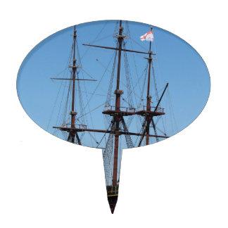 Amsterdam wooden sail ship VOC - Range Cake Toppers
