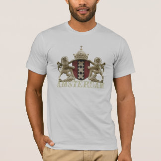 Amsterdam XXX Heraldic Shield with Text T-Shirt