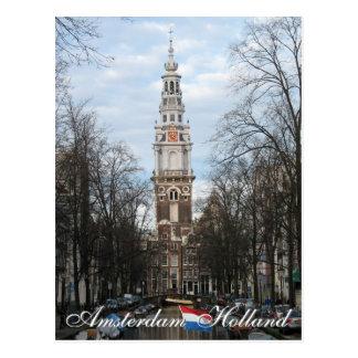 Amsterdam Zuiderkerk Holland Postcard
