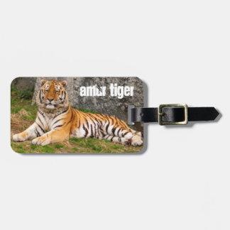 Amur Tiger Luggage Tag
