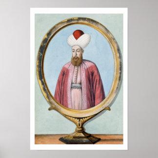 Amurath (Murad) I (1319-89), Sultan 1359-89, from Poster