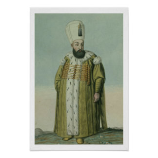Amurath (Murad) III (1546-95) Sultan 1574-95, from Posters