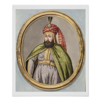 Amurath (Murad) IV (1612-40) Sultan 1623-40, from Poster