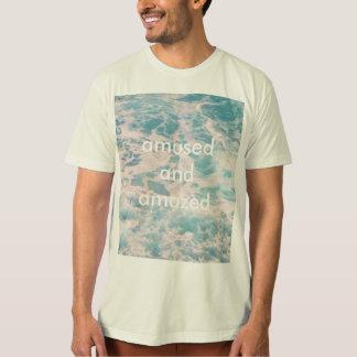 Amused and Amazed Ocean design T-Shirt