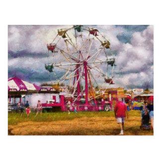 Amusement - Ferris Wheel Fun Postcard