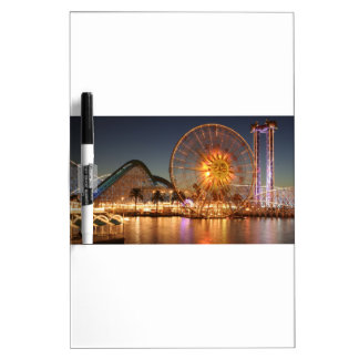 Amusement Park Lights Dry Erase Board
