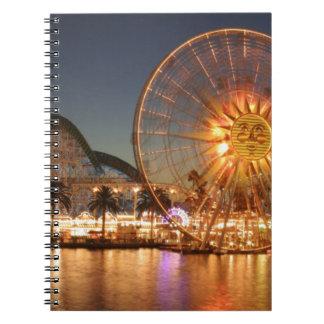 Amusement Park Lights Notebooks